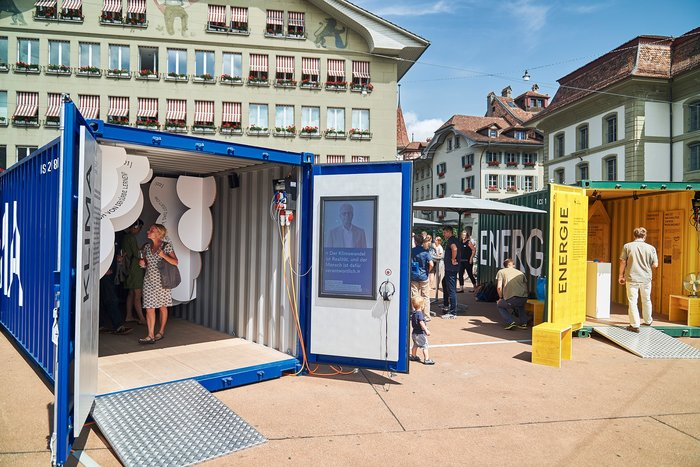Container³ – an exhibition on global climate change and local climate protection 3