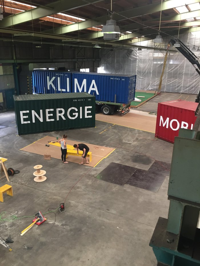 Container³ – an exhibition on global climate change and local climate protection 9