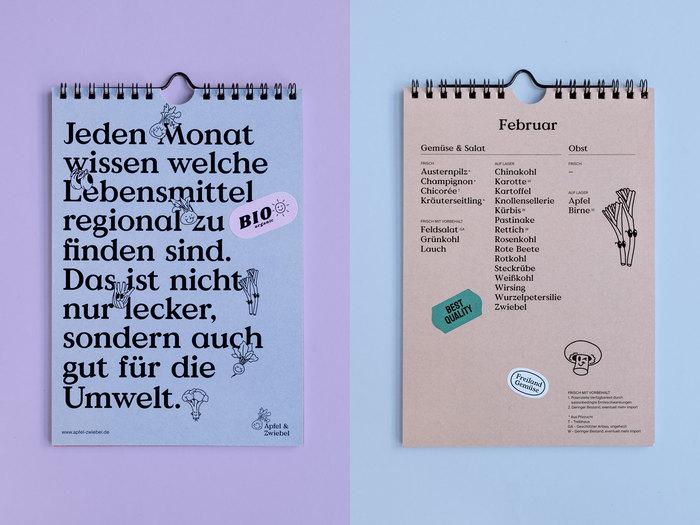 Apfel & Zwiebel seasonal calendar 3