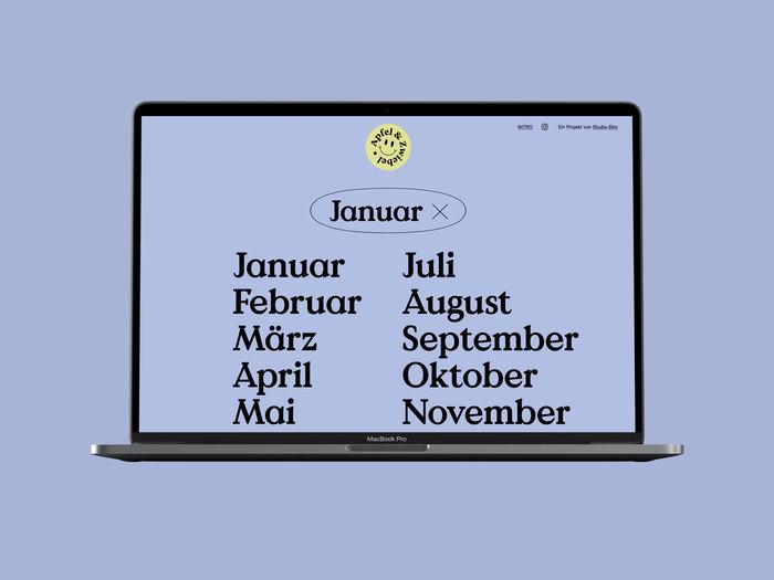 Apfel & Zwiebel seasonal calendar 5