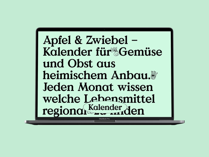 Apfel & Zwiebel seasonal calendar 6