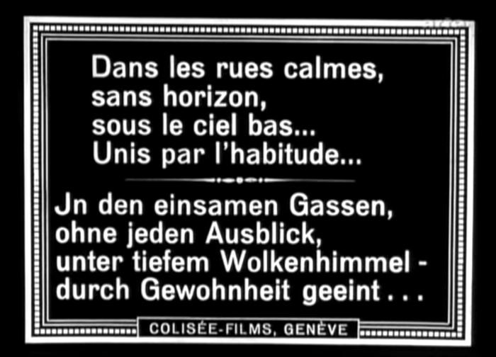 La souriante Madame Beudet (1923) film titles and poster 20