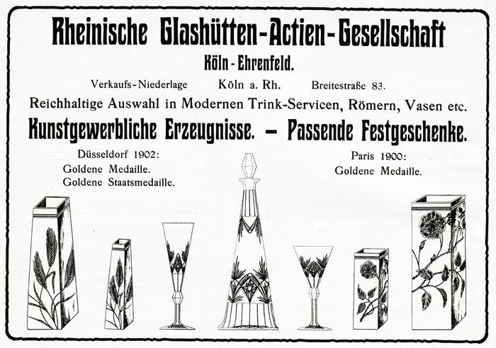 Rheinische Glashütten-Actien-Gesellschaft ad (1906)