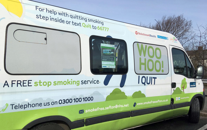 Smokefree mobile 'stop smoking service'