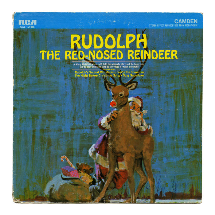 Rudolph The Red-Nosed Reindeer album art