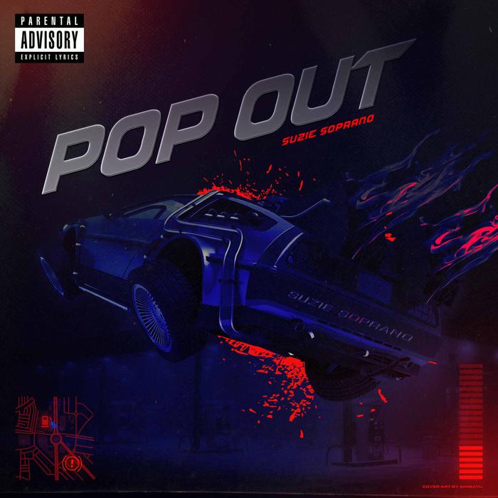 """Suzie Soprano – """"Pop Out"""" single cover 1"""