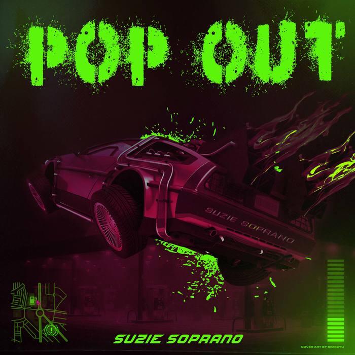 """Suzie Soprano – """"Pop Out"""" single cover 2"""