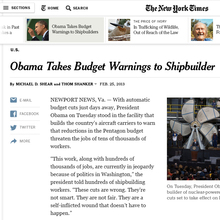 The New York Times Article Redesign (May, 2013)
