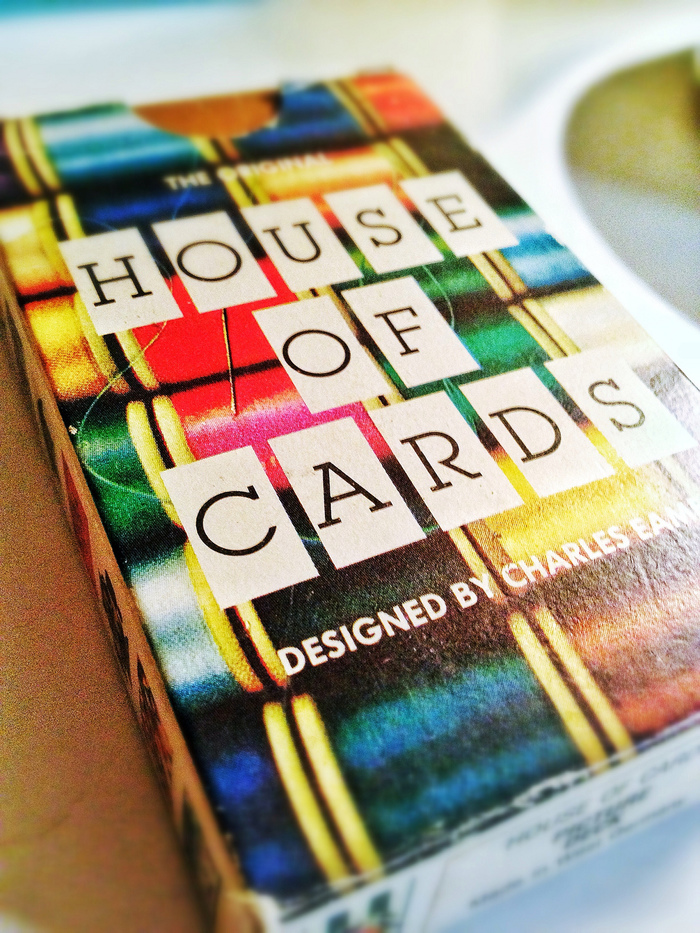 Eames House of Cards (1986 MoMA/Ravensburger Edition) 1