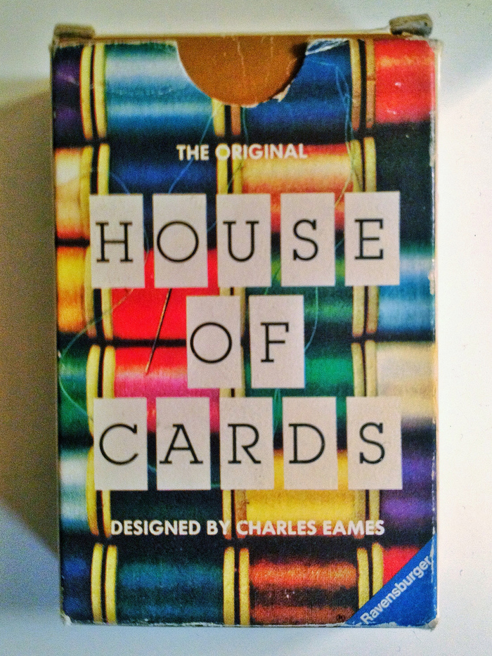 Eames House of Cards (1986 MoMA/Ravensburger Edition) 2