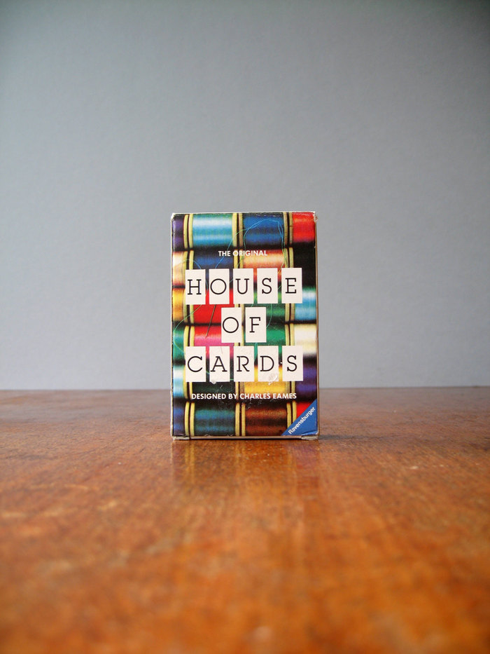 Eames House of Cards (1986 MoMA/Ravensburger Edition) 3