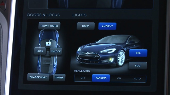 2013 Tesla Model S Dashboard Display 4