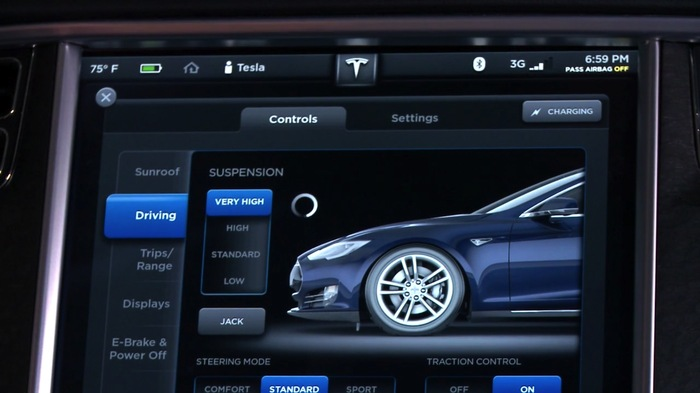 2013 Tesla Model S Dashboard Display 5