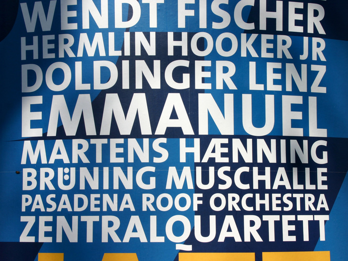 Jazz in Town Poster 1