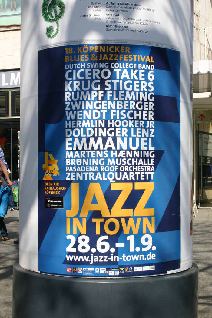 Jazz in Town Poster 2