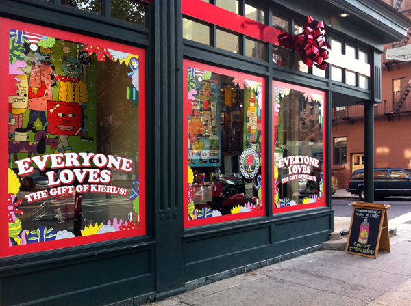 Kiehl's 2011 holiday campaign 1