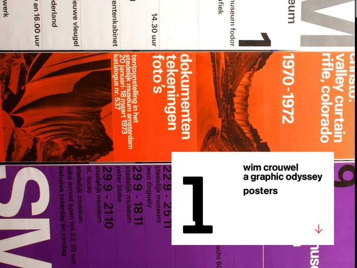 Wim Crouwel: A Graphic Odyssey, Unit Editions 8