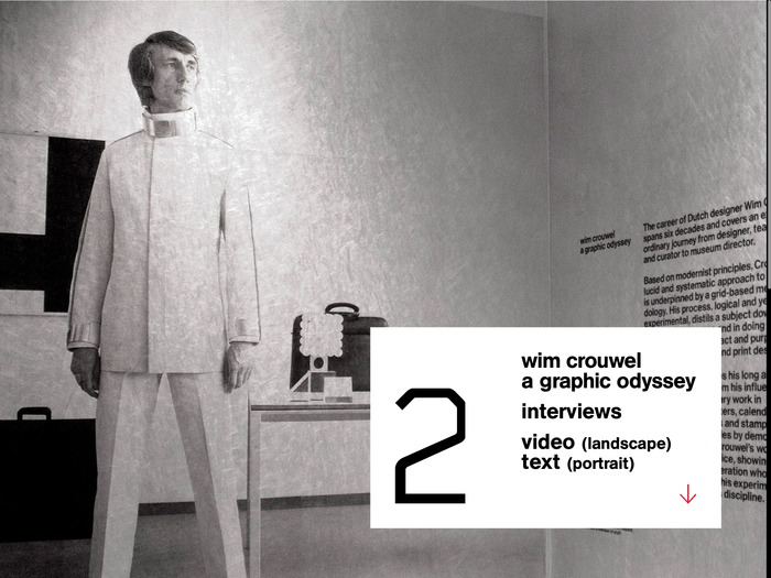 Wim Crouwel: A Graphic Odyssey, Unit Editions 9