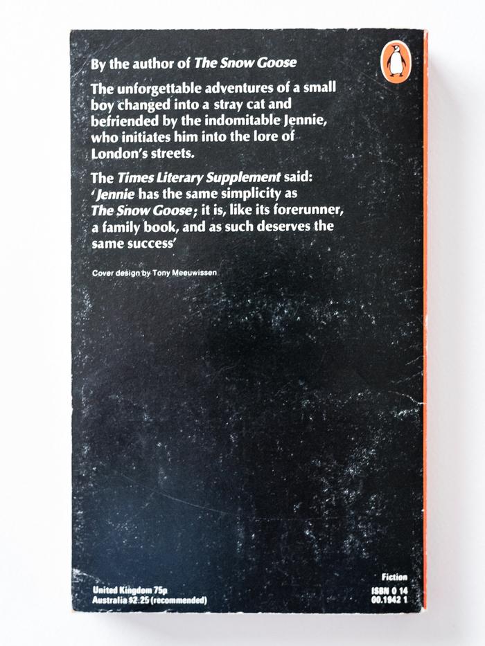 Jennie by Paul Gallico (1972 Pengiun Edition) 3