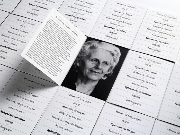 Mercè Rodoreda, Mirror of Languages Exhibition Catalogue 2