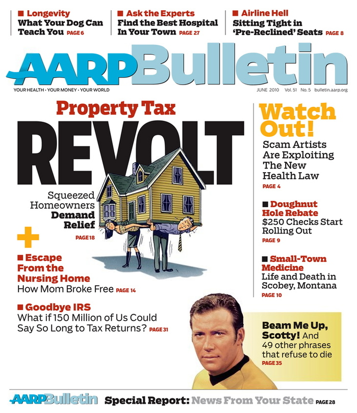 AARP The Magazine and AARP Bulletin 6
