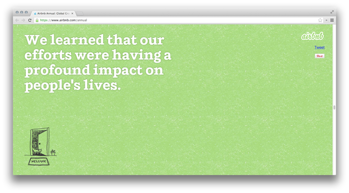 Airbnb 2012 Annual Report 3