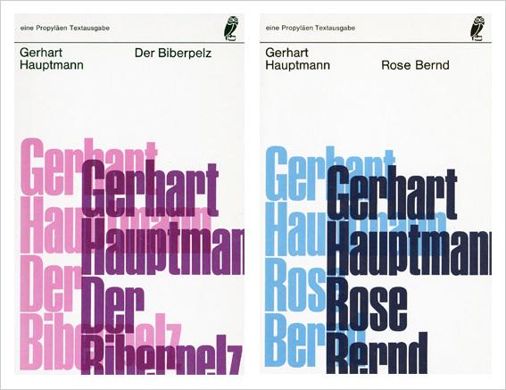 Der Biberpelz (The Beaver Coat) and Rose Bernd by Gerhart Hauptmann