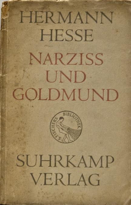 Narziß und Goldmund (Narcissus and Goldmund) by Hermann Hesse, Suhrkamp 1948 Edition
