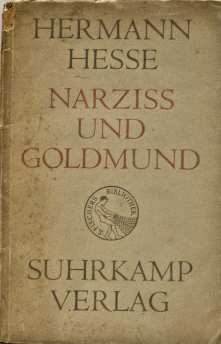 Narziß und Goldmund (Narcissus and Goldmund) by Hermann Hesse, Suhrkamp 1948 Edition
