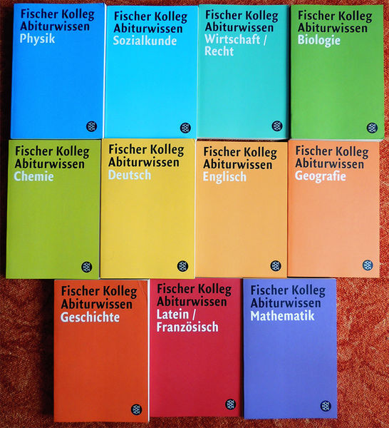 Fischer Reference Books (2001–04) 1