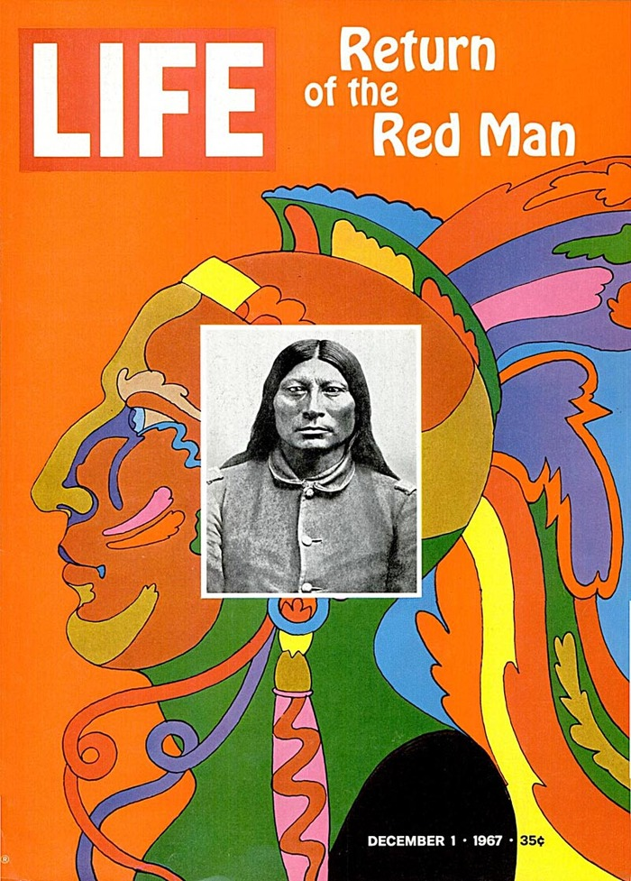 "LIFE Magazine: ""Return of the Red Man"", Dec. 1967 1"