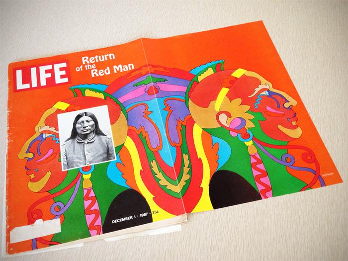 "LIFE Magazine: ""Return of the Red Man"", Dec. 1967 2"