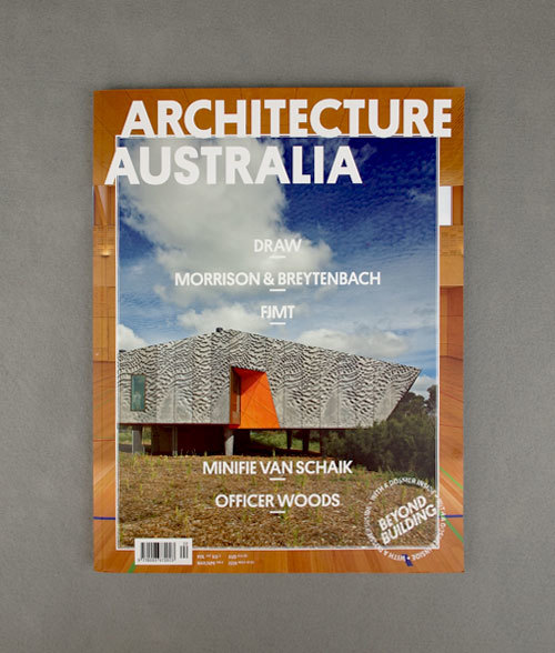 Architecture Australia, March 2012 Redesign 1