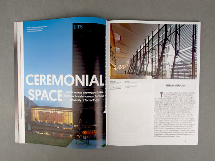 Architecture Australia, March 2012 Redesign 5