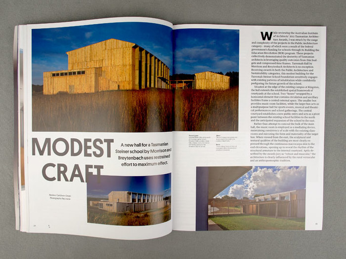 Architecture Australia, March 2012 Redesign 4