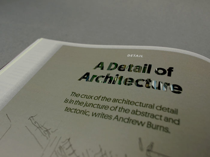 Architecture Australia, March 2012 Redesign 9