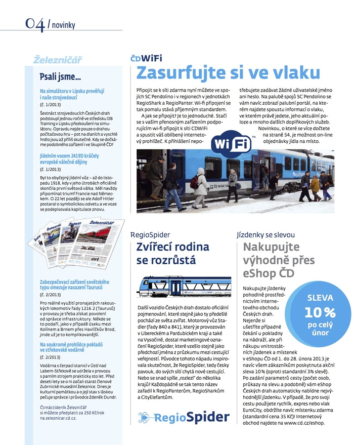 České Dráhy – Czech Railways 5