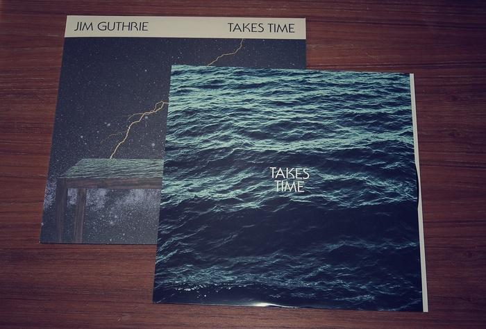 Jim Guthrie – Takes Time album art 1