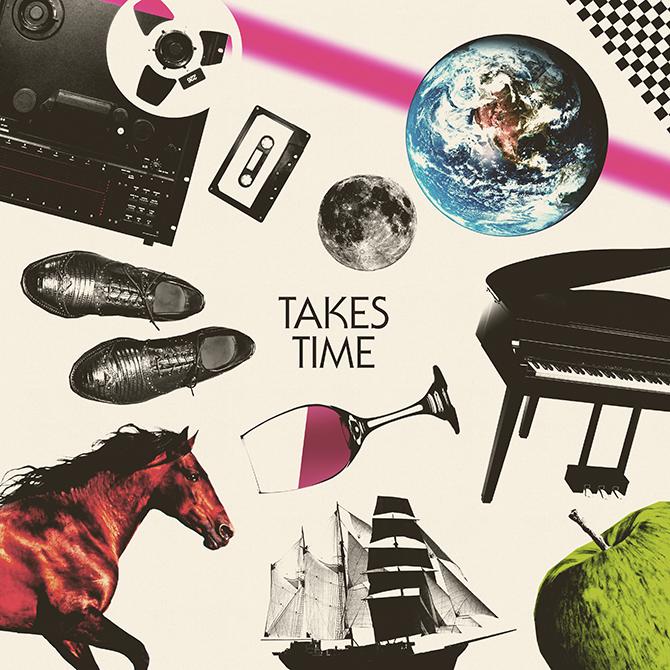 Jim Guthrie – Takes Time album art 3