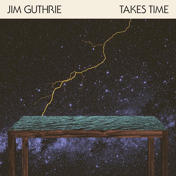 Jim Guthrie – Takes Time album art 6