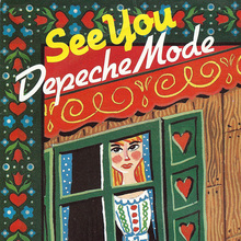 "Depeche Mode – ""See You"" and ""The Meaning Of Love"" single covers"