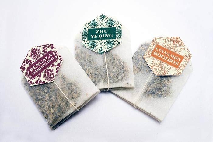 Bohemia tea labels 1