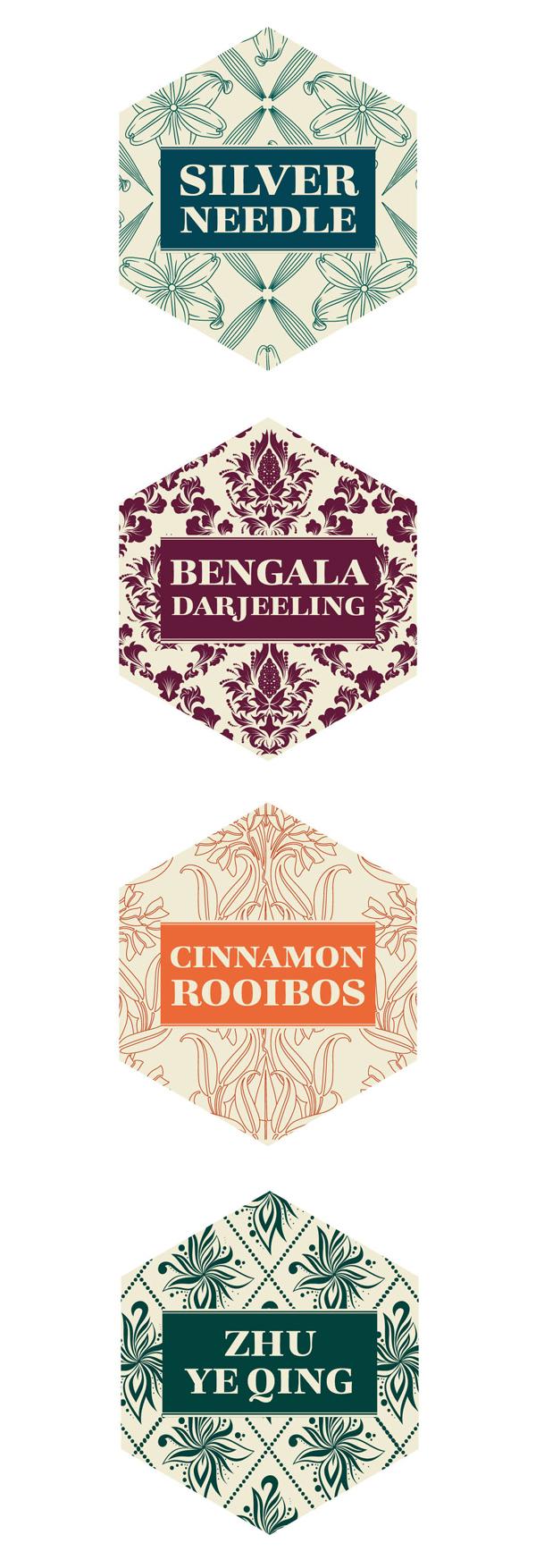 Bohemia tea labels 4