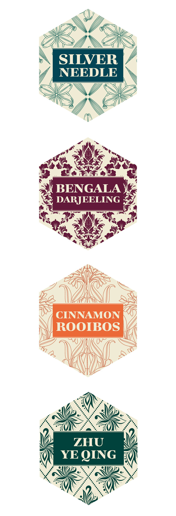 Bohemia tea labels 4