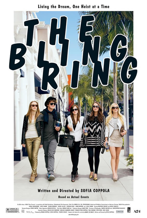 The Bling Ring posters 2
