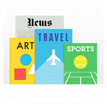 iOS 7 Newsstand App Icon (Beta 1)