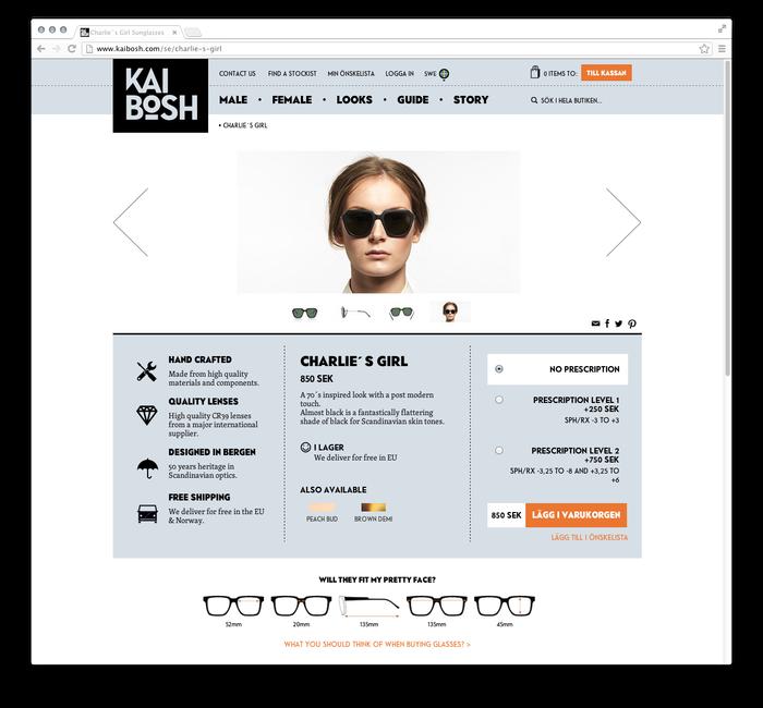 Kaibosh website 3