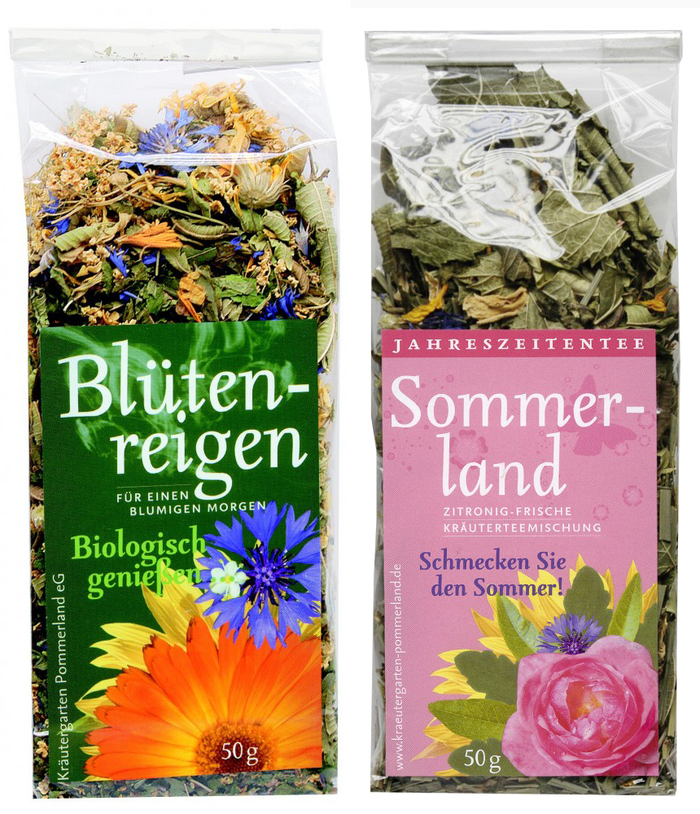 Kräutergarten Pommerland herbal teas 3