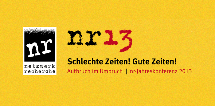 netzwerk recherche Conference 2013 4