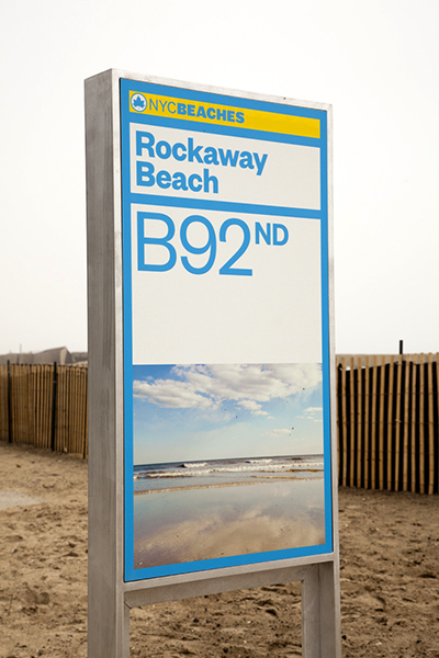 NYC Beaches identity 1